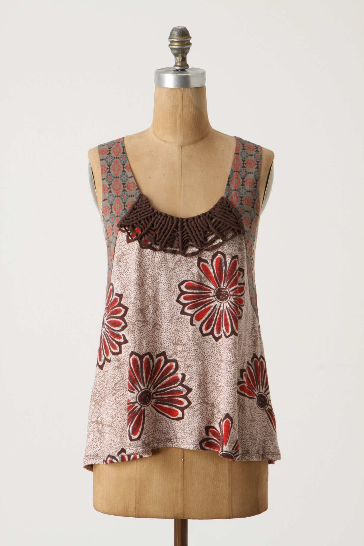 Ibos Tank Anthropologie Clothes, Tank top fashion, Fashion