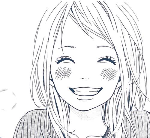 Smiling Girl Smiling Eyes Manga Girl Smile Cute And