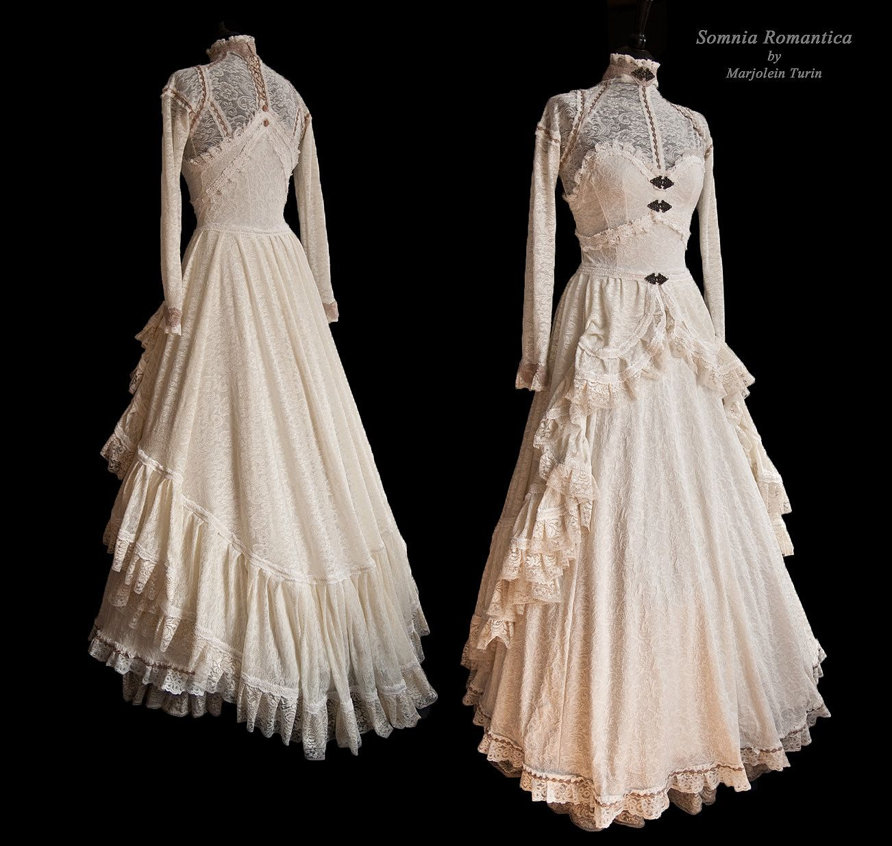 Dress Ange Ivoire, Somnia Romantica By M. Turin By