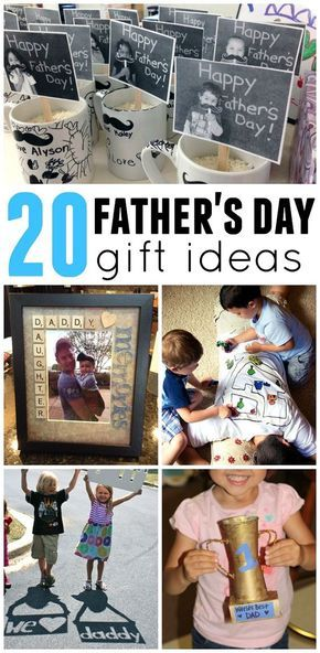 20 fathers day gift ideas from kids great craft ideas including 20 fathers day gift ideas from kids great craft ideas including photo frames shirts negle Images