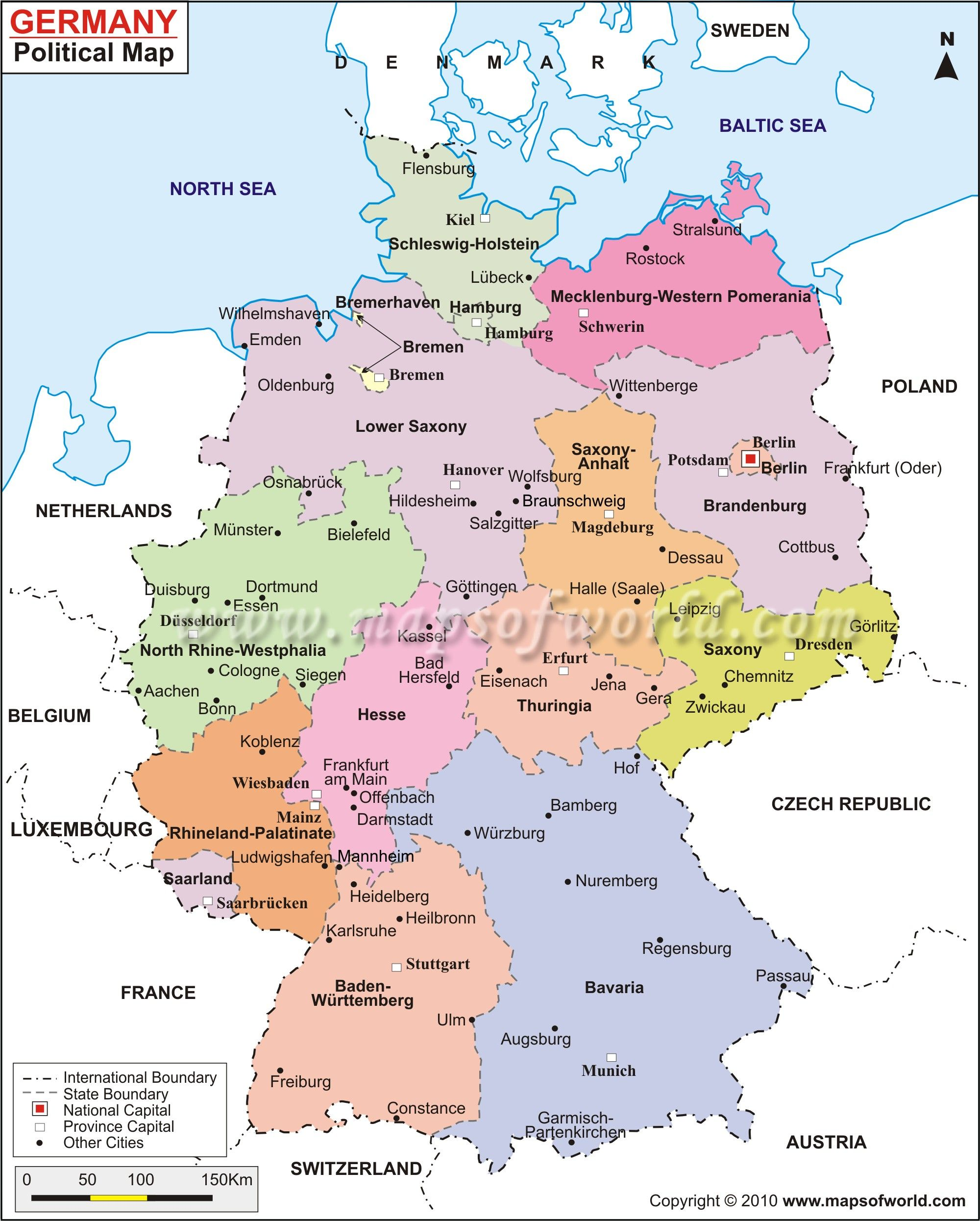 Map Of East And West Germany With Cities.November 9 1938 Ce Kristallnacht The Night Of Broken Glass
