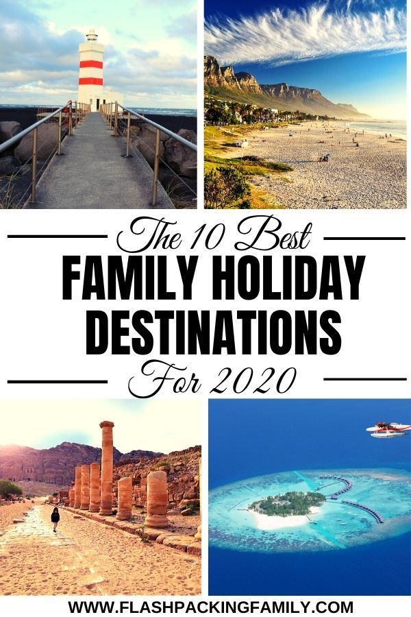 The 10 Best Family Holiday Destinations for 2020 | Ultimate Travel Inspo -   19 holiday Destinations usa ideas