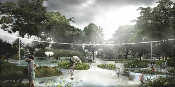 landarchs.com - Copenhagen's First Climate Resilient Neighborhood - Landscape Architects Network
