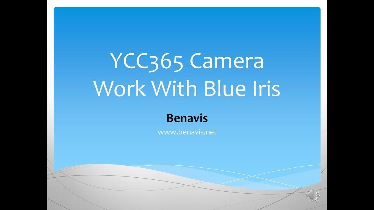 How to Make YCC365 Camera work with Blue Iris Onvif protocol