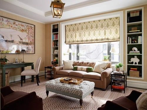 Living Room Ottoman \u2013 Beautiful Design Ideas living room décor