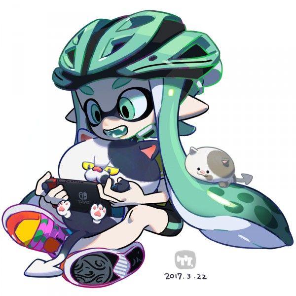 Splatoon Nintendo Switch Dessin 竹画廊 Jeuvideo Jeuxvideo