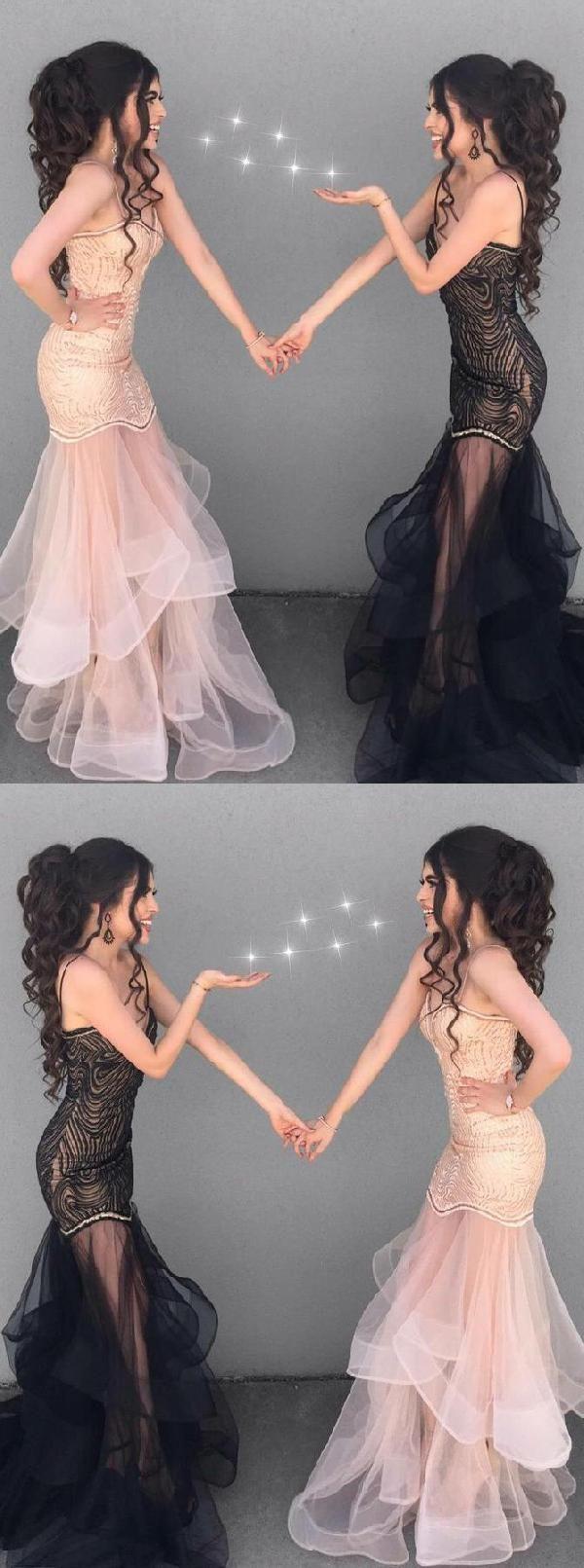 Prom dress mermaid prom dress long black prom dress black mermaid