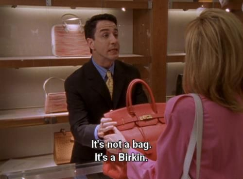 Hermes birkin and sex in the city
