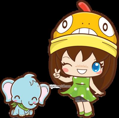 The Poke-fan and Baby Elephant by mAi2x-chan on DeviantArt
