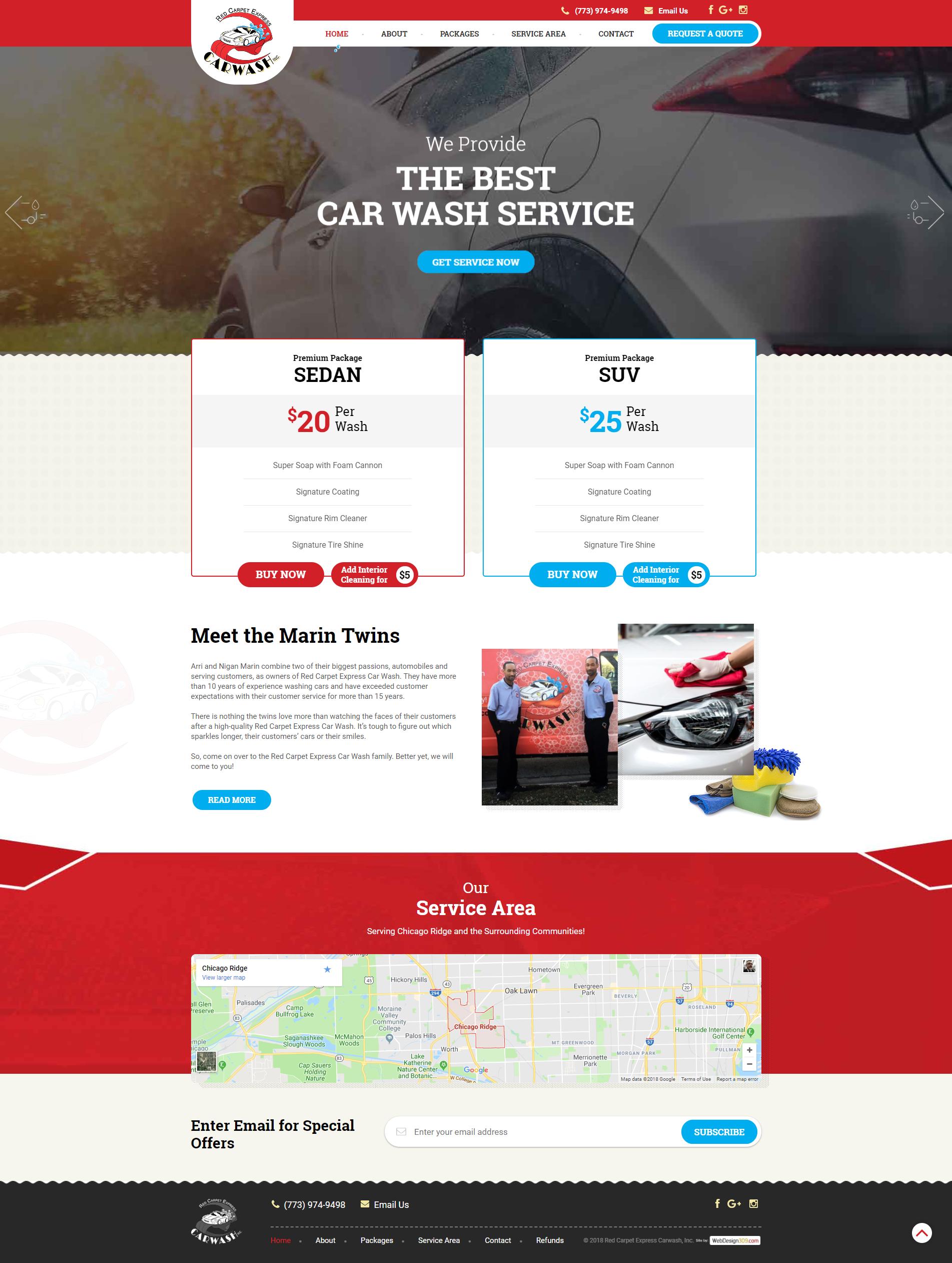 Red Carpet Express Car Wash Mobile Car Wash Servicing The