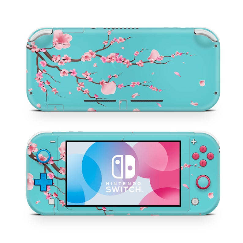 Nintendo Switch Lite Skin Decal Cherry Blossom Etsy in