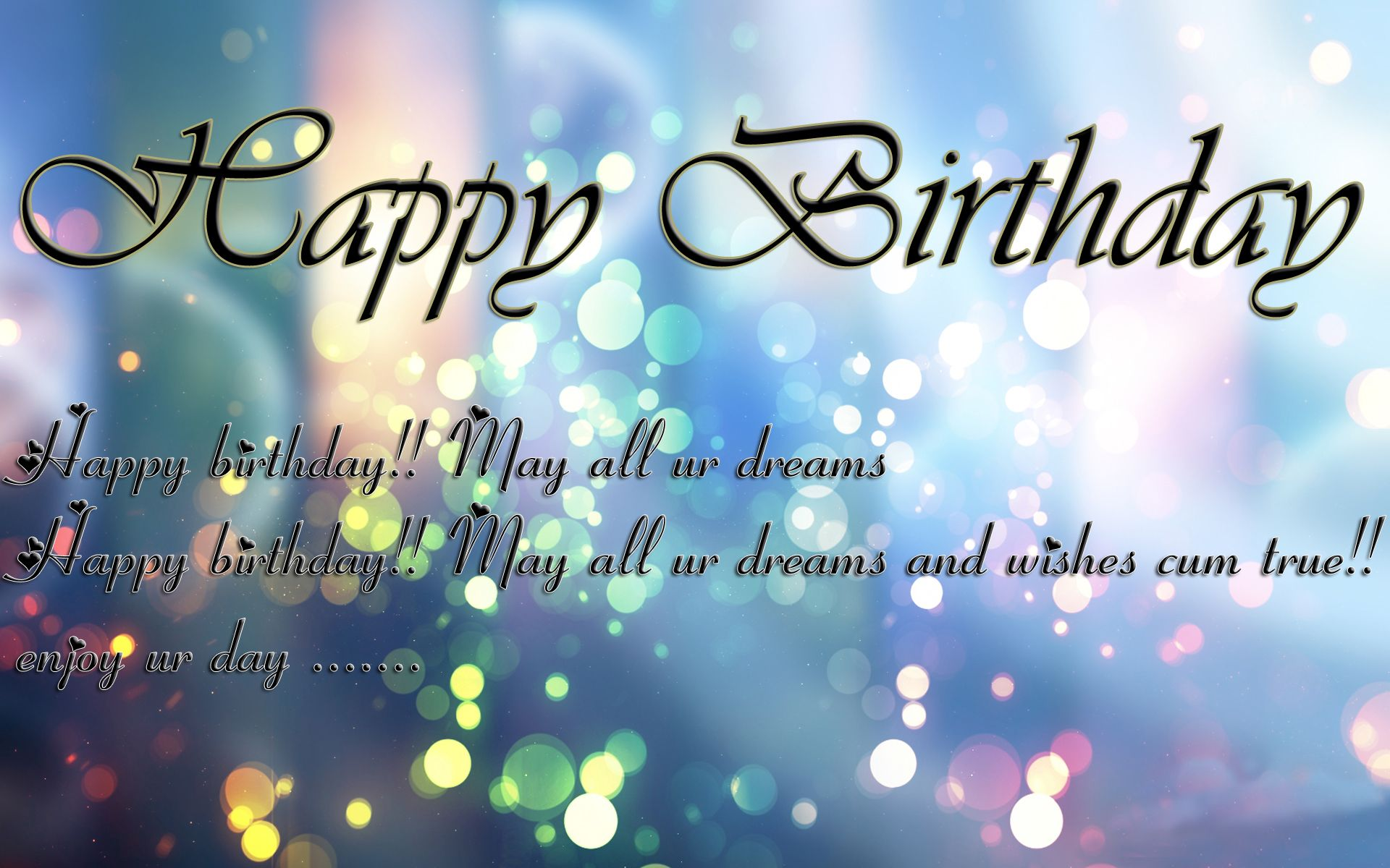 Nexquisite Entertainment would like to wish you happy birthday – Different Birthday Greetings