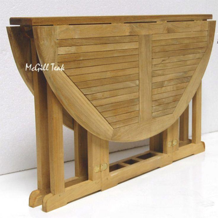 Round Picnic Table Plans Teak Outdoor Round Butterfly Folding Table Mardel Outdoor Folding Table Round Picnic Table Diy Outdoor Table
