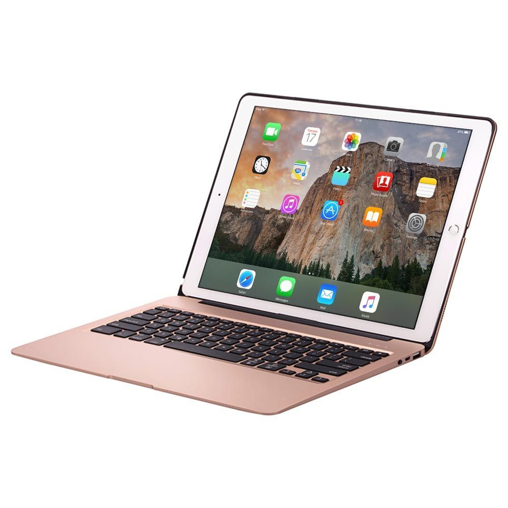 Cooper Kai Skel A1 Backlight Keyboard Aluminum Clamshell w/ Power Bank for Apple iPad Air 2, Pro ...