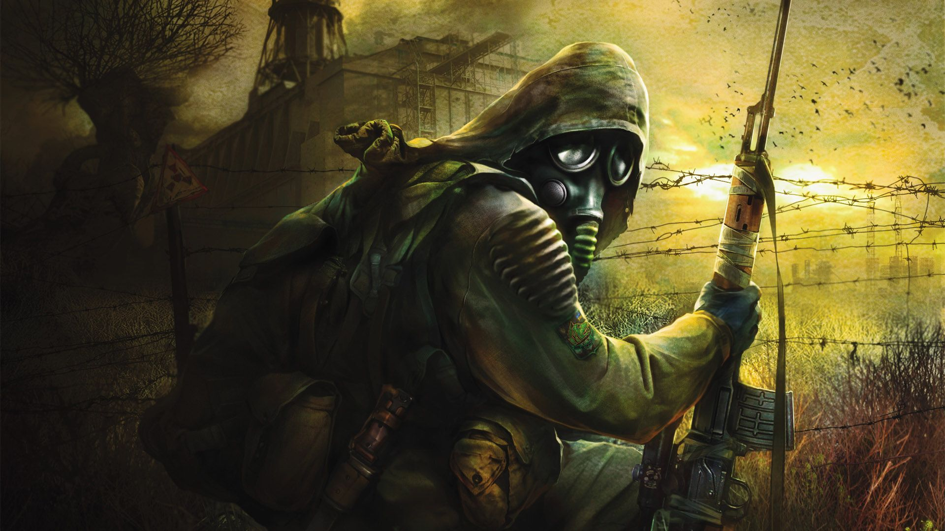 Cool Gaming Backgrounds Digital Wallpaper Chernobyl Stalker