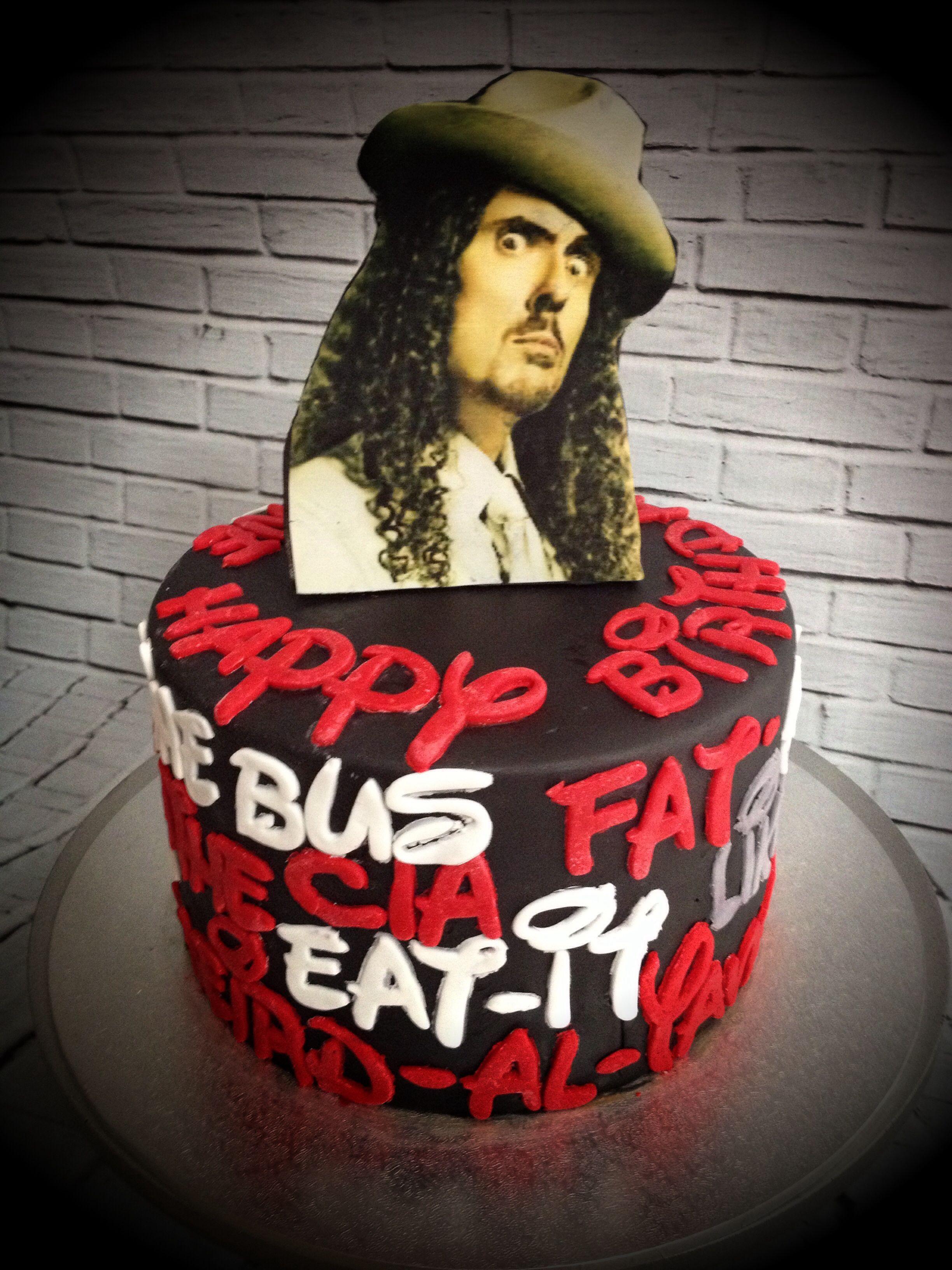 Weird Al Yankovic Cake Birthday Cake Pinterest Cake Birthday