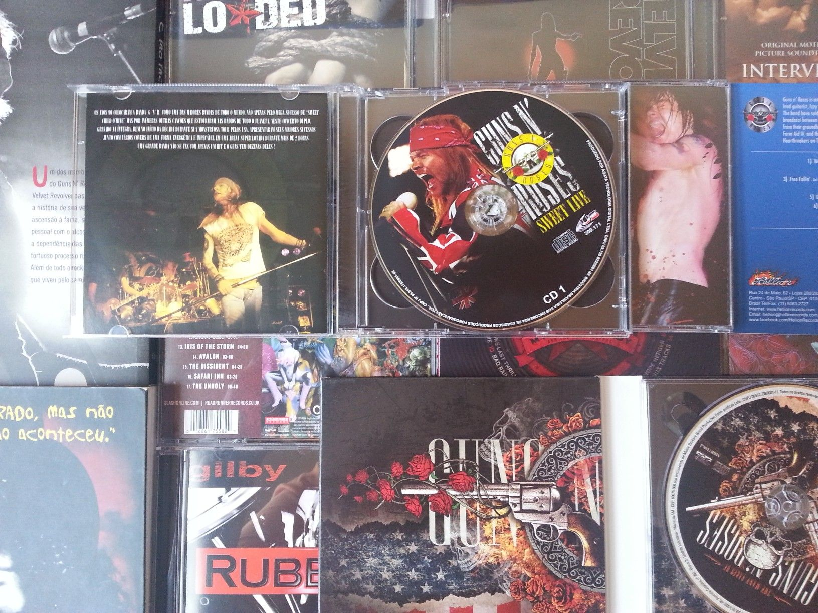 #gunsnroses #collection #cds