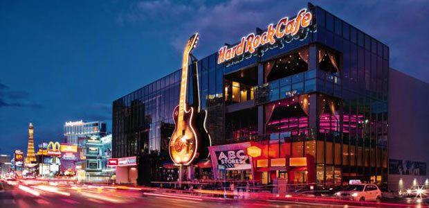 Hard Rock Café Las Vegas Cambridge Seven Ociates Architects