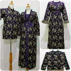 Aneka Model Baju Gamis Batik Terbaru Untuk Pesta | Model ...