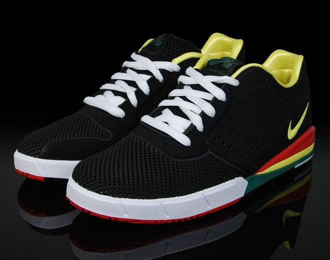 Nike Zoom SB Rasta black-voltage yellow