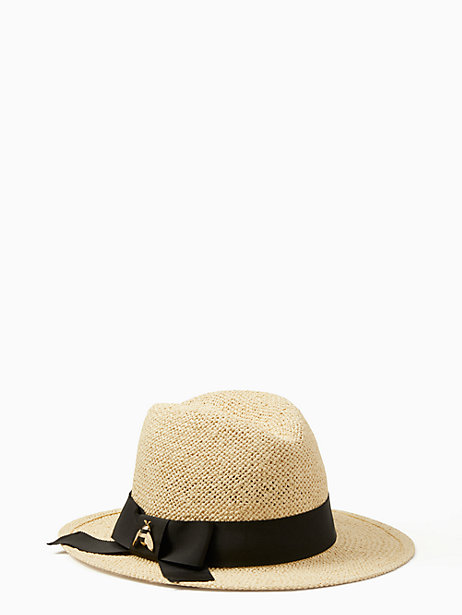 00f02308 Kate Spade Bee Hardware Trilby, Natural | Products | Kate spade ...