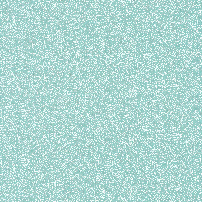 Papier peint intissé Hanami Konoha vert amande CASELIO
