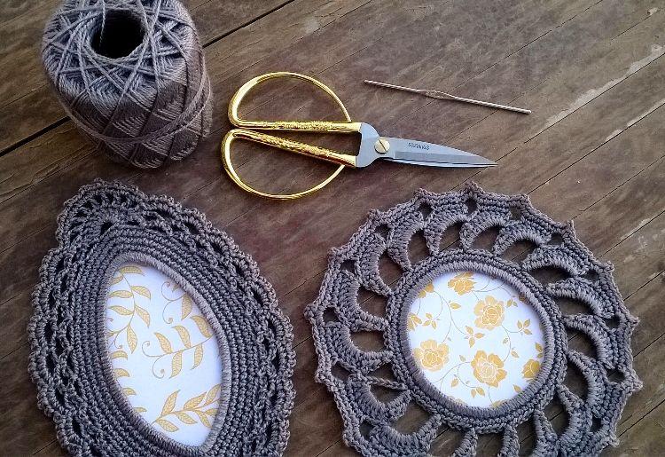 Marcos de Crochet.   Crochet (Diversos)   Pinterest   Marcos, Gana y ...