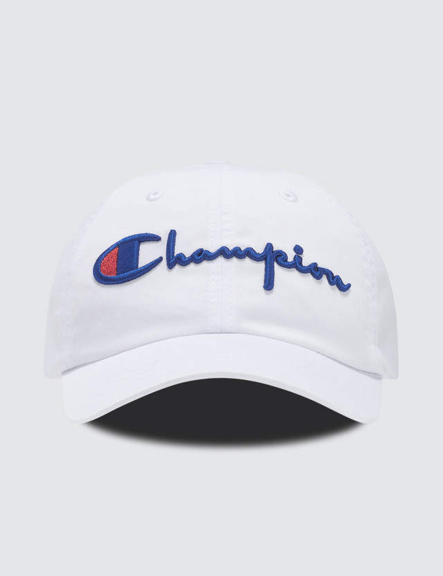 00a548ad311df Champion Reverse Weave Script Logo Sport Cap