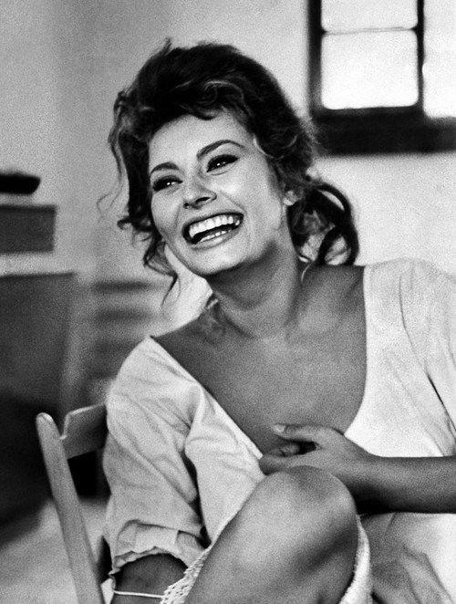 Sophia Loren by Alfred Eisenstaedt.