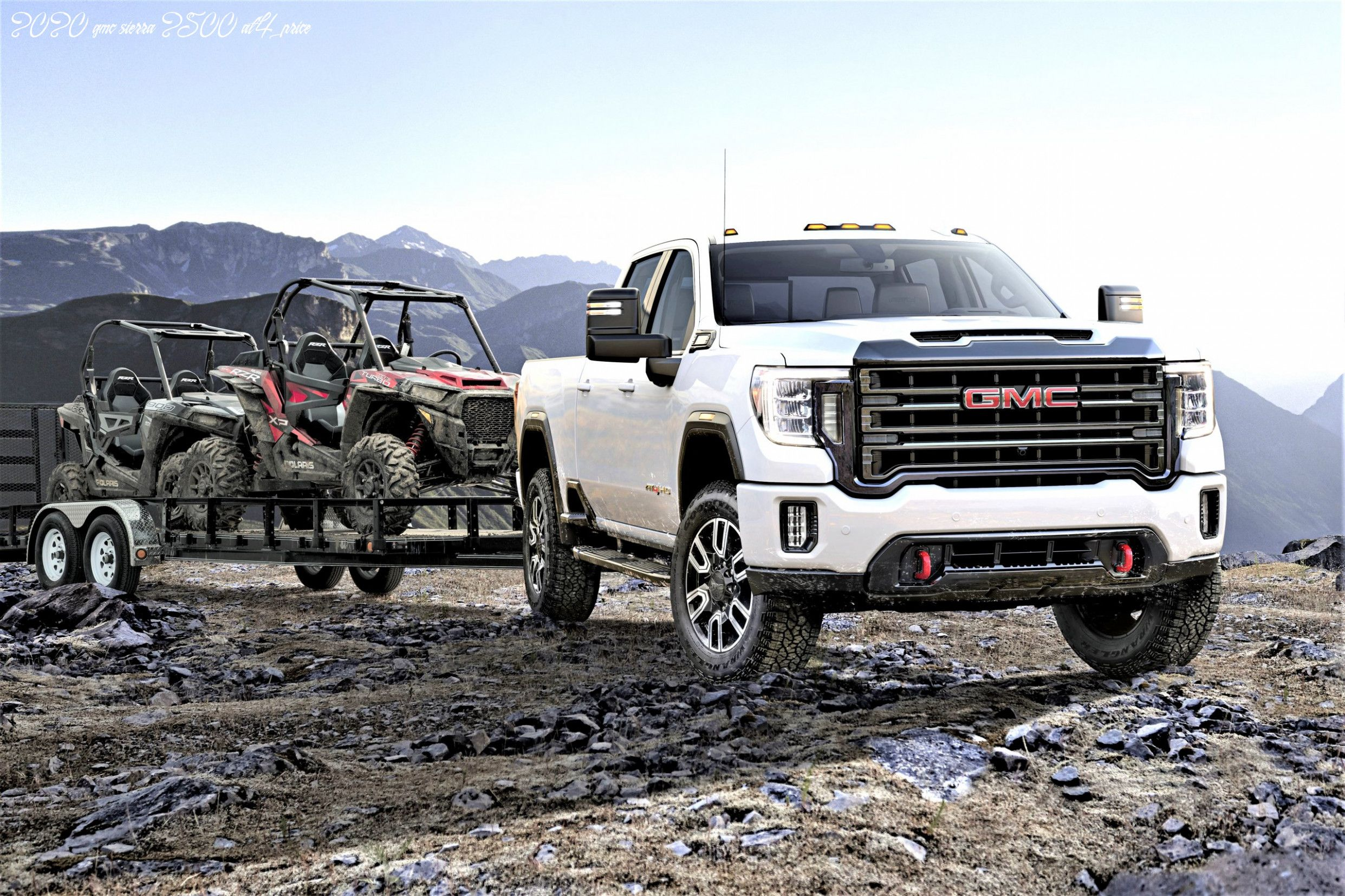 2020 Gmc Sierra 2500hd Leak Price In 2020 With Images Diesel Trucks