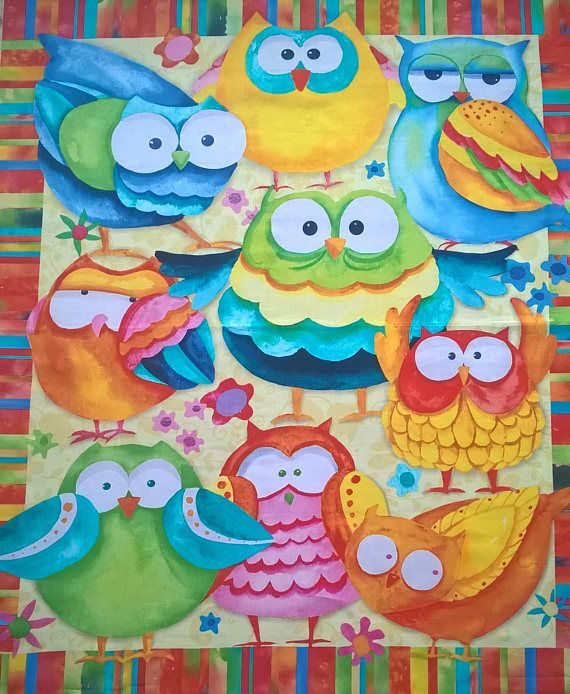 owl baby blanket colorful baby bedding with owl birds custom