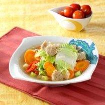 Sayur Sawi Putih Kuah Resep Makanan Masakan Indonesia