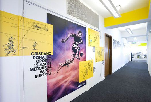 Inside Nikes UK London HQ The Mercurial Zone Football News In