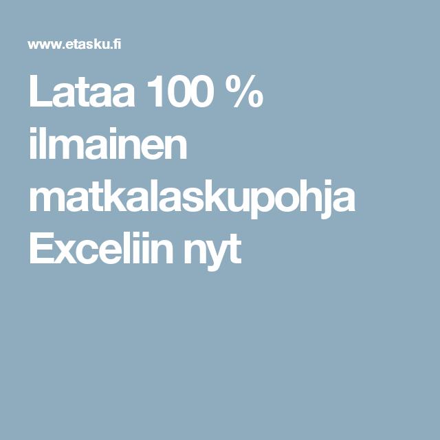 Ilmainen Exel