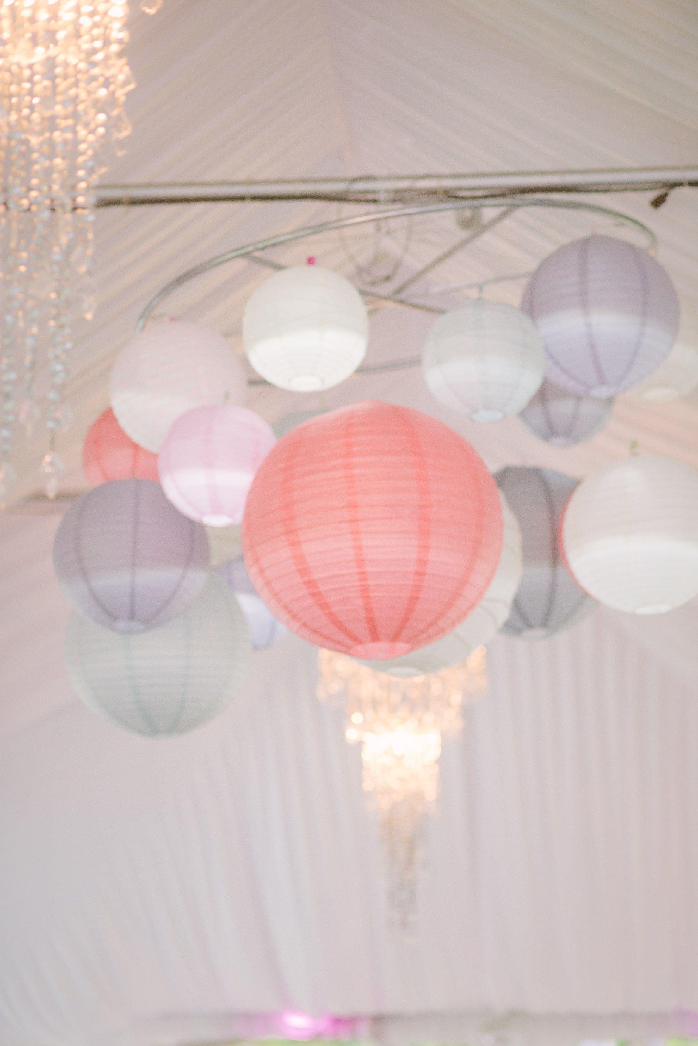 DIY Paper Lantern Chandelier | Wedding ideas | Pinterest | Paper ...