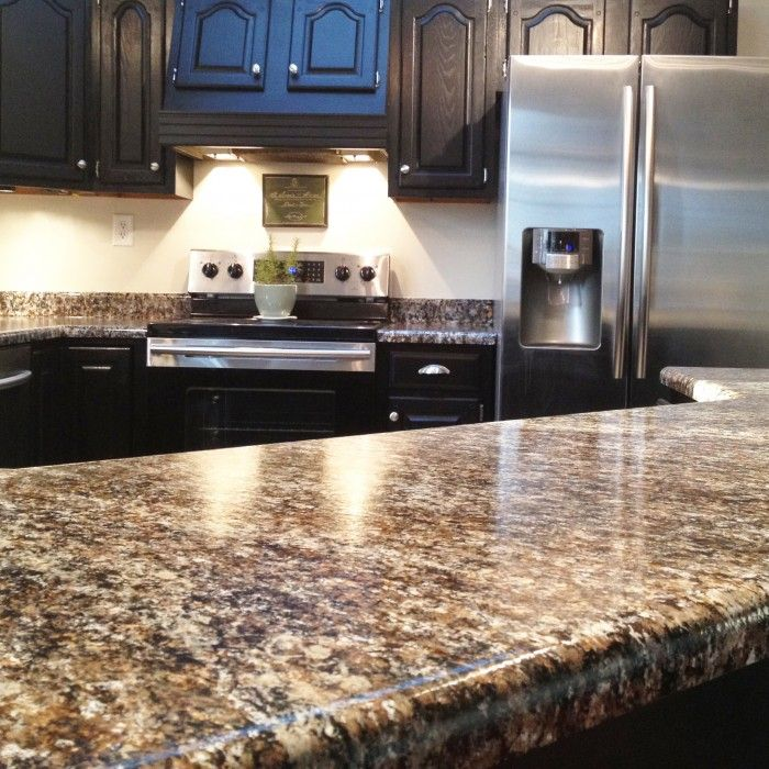 Simple Kitchen Images With Granite: Kitchen 3 Looks Like Granite! Easy To Care For...warm Soapy Water. (FAQ & Video Tutorials On