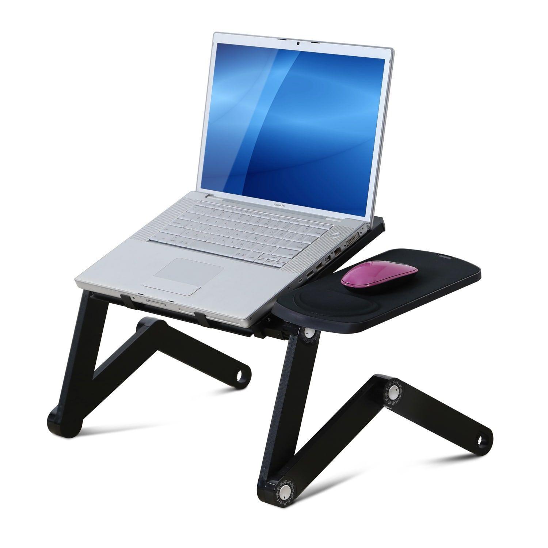 furinno d1 multi-adjustable ergonomic laptop bed desk | products