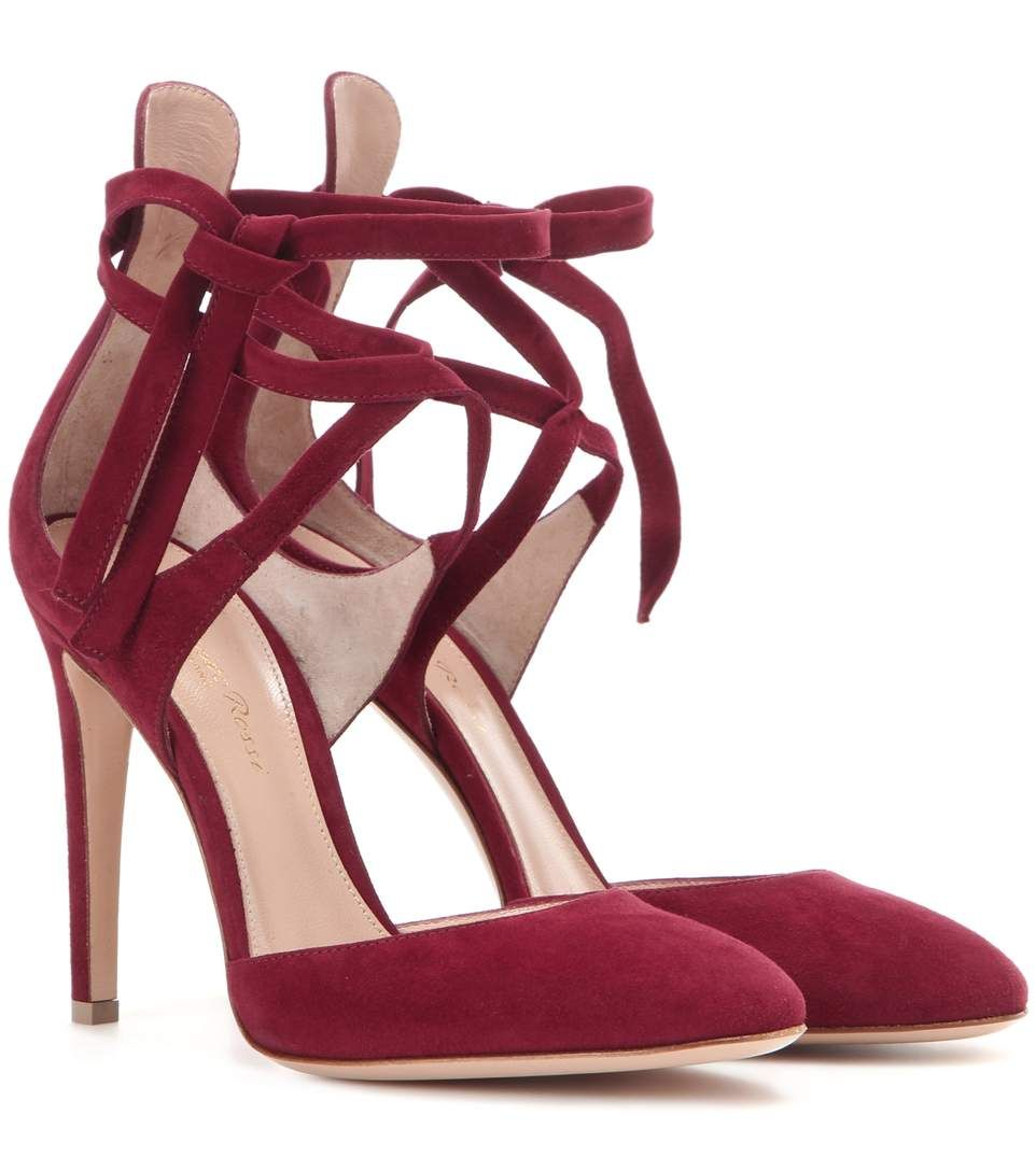 Gianvito Rossi Pina Suede Pumps free shipping new arrival buy cheap classic amazing price for sale sale with credit card eastbay cheap online vJj6LiipTS