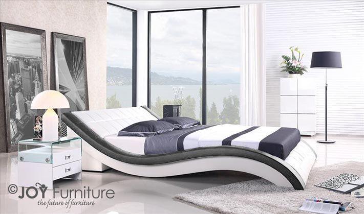 Modern Leather Bed Frames Bedroom Suites Joy Furniture Leather Bed Kids Bed Design Affordable Bedding