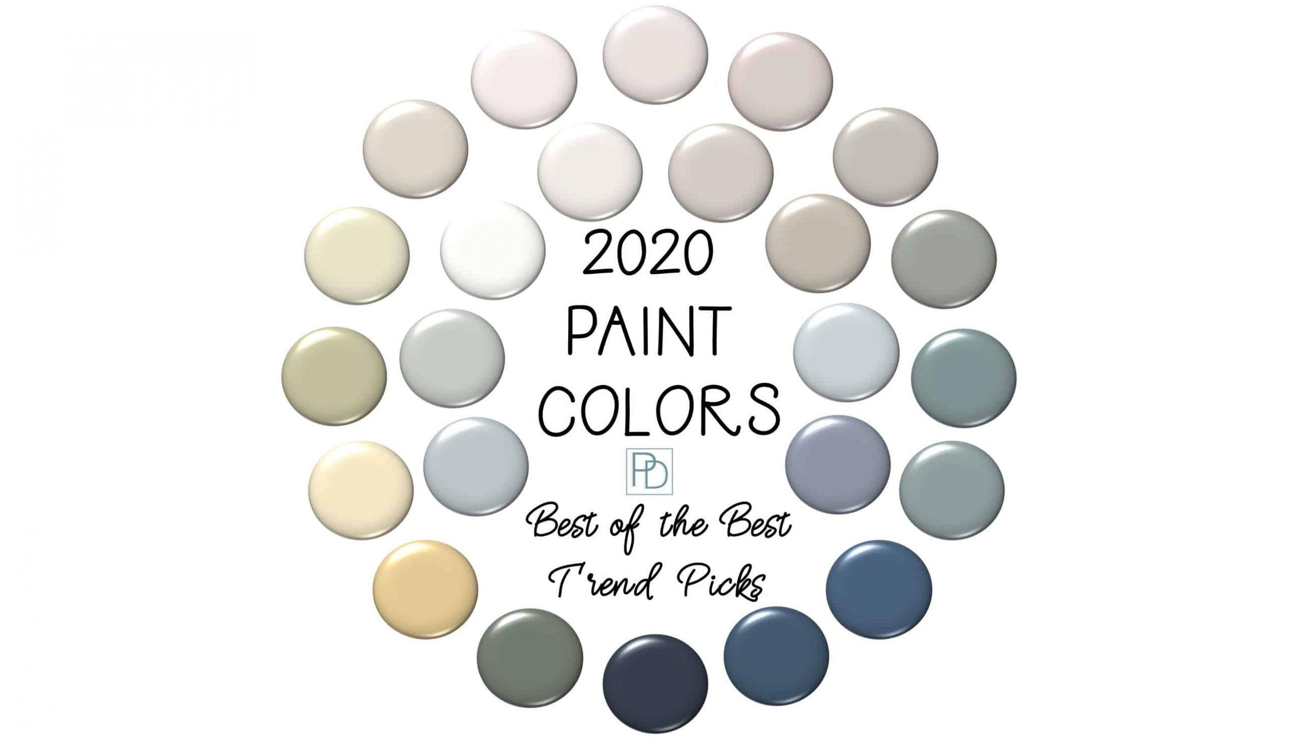 2020 Paint Color Trends: 24 Best of the Best Picks ...
