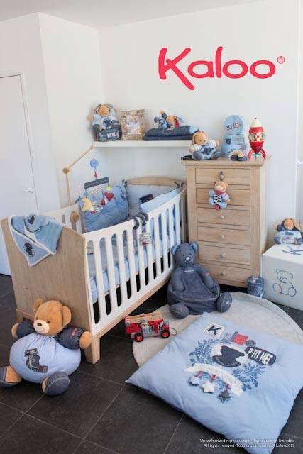 Kaloo blue denim une chambre de petit gar on r solument for Chambre de petit garcon