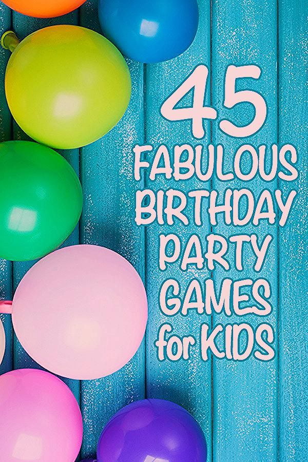 Photo of 45 Fabulous Birthday Party Games for Kids. Kid Approved!