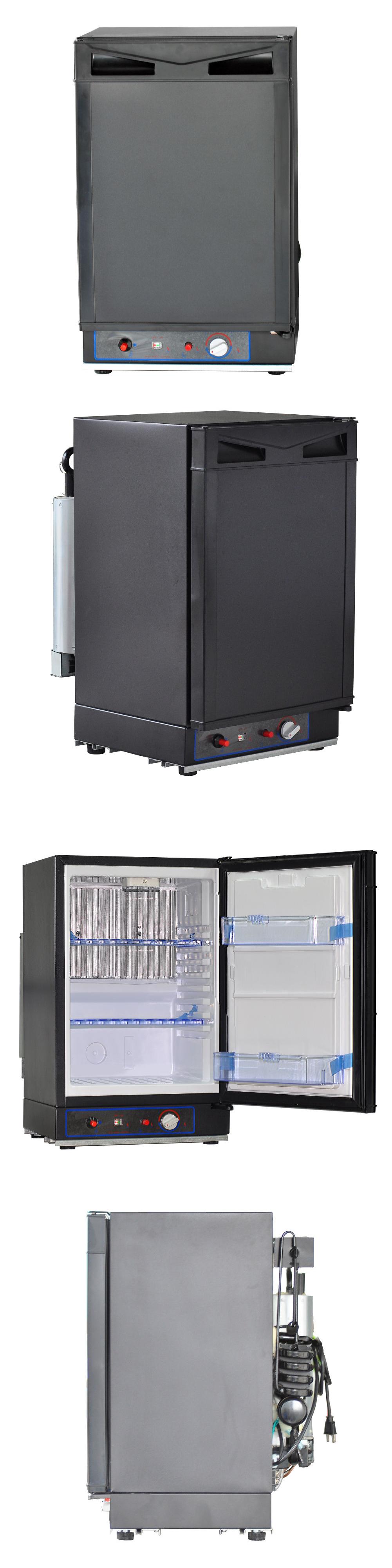 12-Volt Portable Appliances: 12V 110V Propane Refrigerator Lp Gas ...