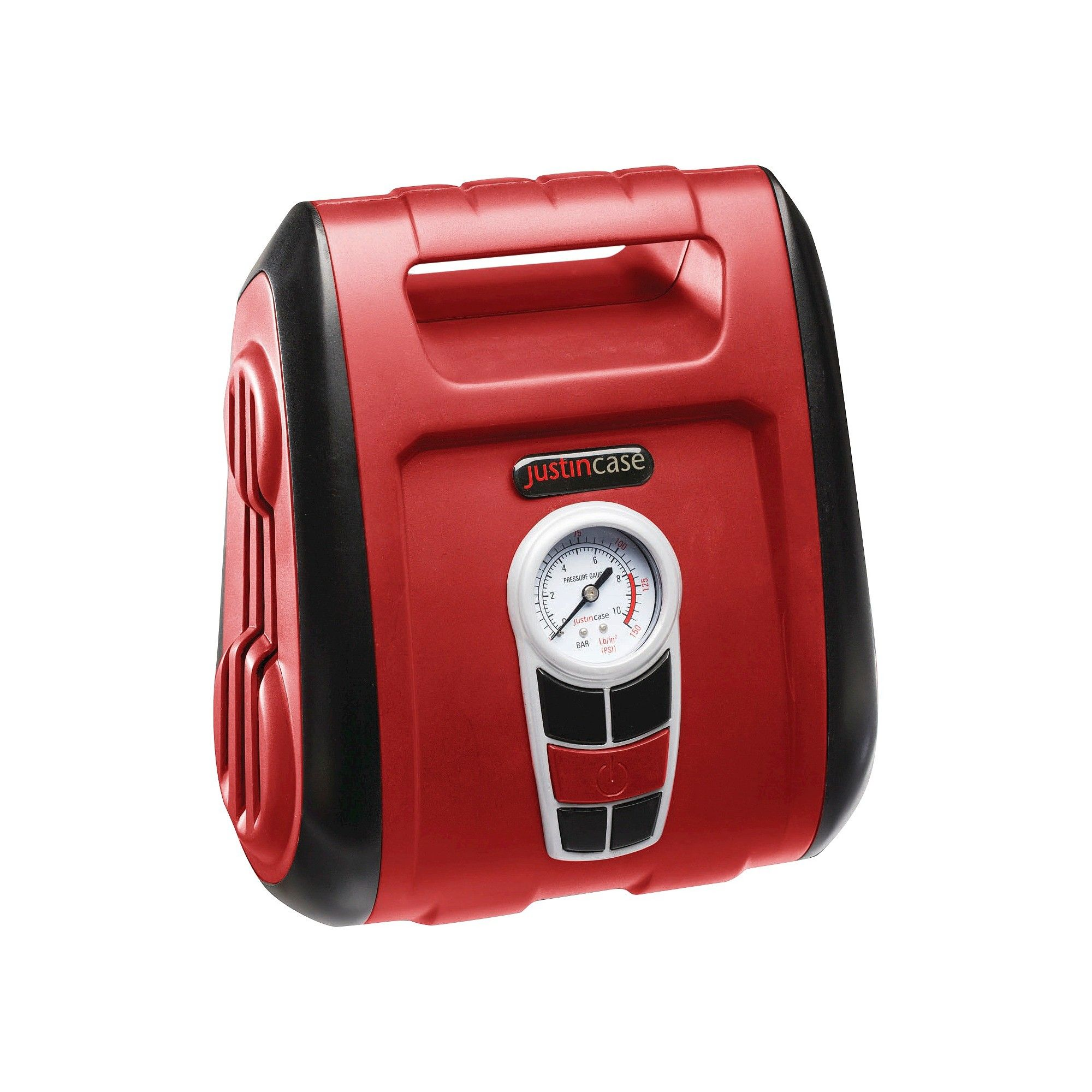 Justin Case Tire Inflator Specialty Series Garage