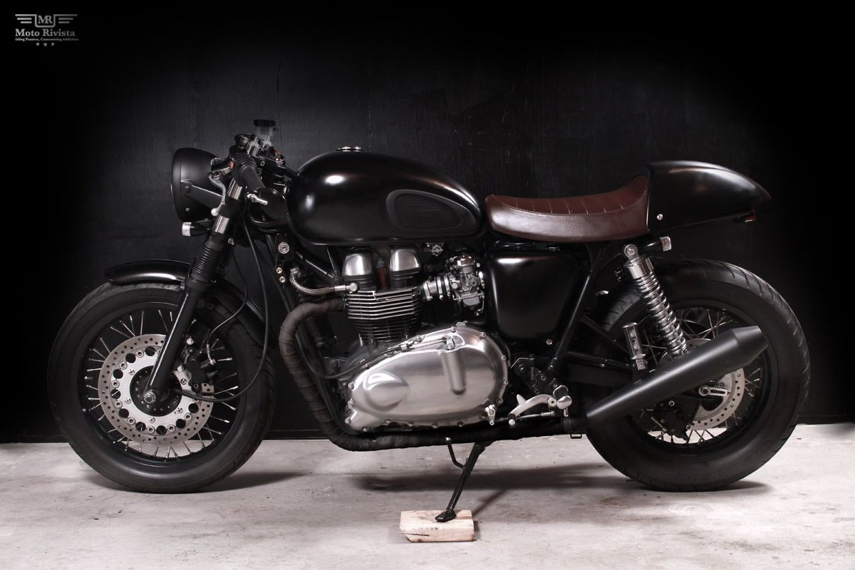 Assez Custom Triumph thruxton   Coolest Motorcycles   Pinterest   Cafes  GC47