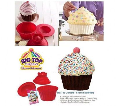 3pcs #giant big #silicone cupcake cake #mould top cupcake bake baking mold  de,  View more on the LINK: 	http://www.zeppy.io/product/gb/2/261923523020/