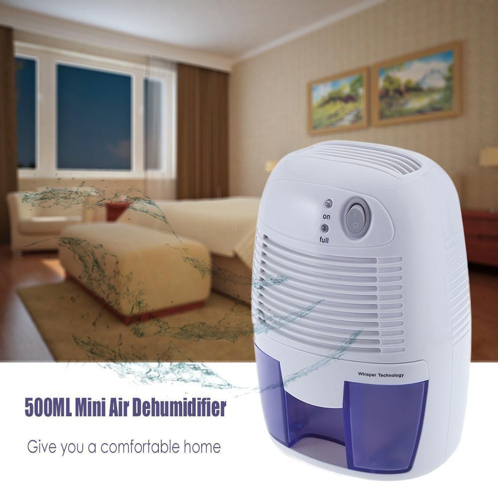 Portable Mini Dehumidifier For Home Wohnen Und Leben Wassertank Und Luftentfeuchter