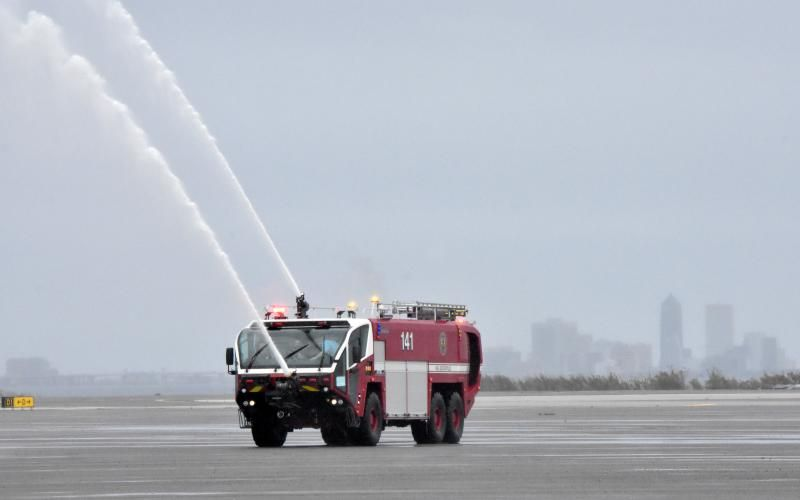 First coast navy fire and emergency services new truck