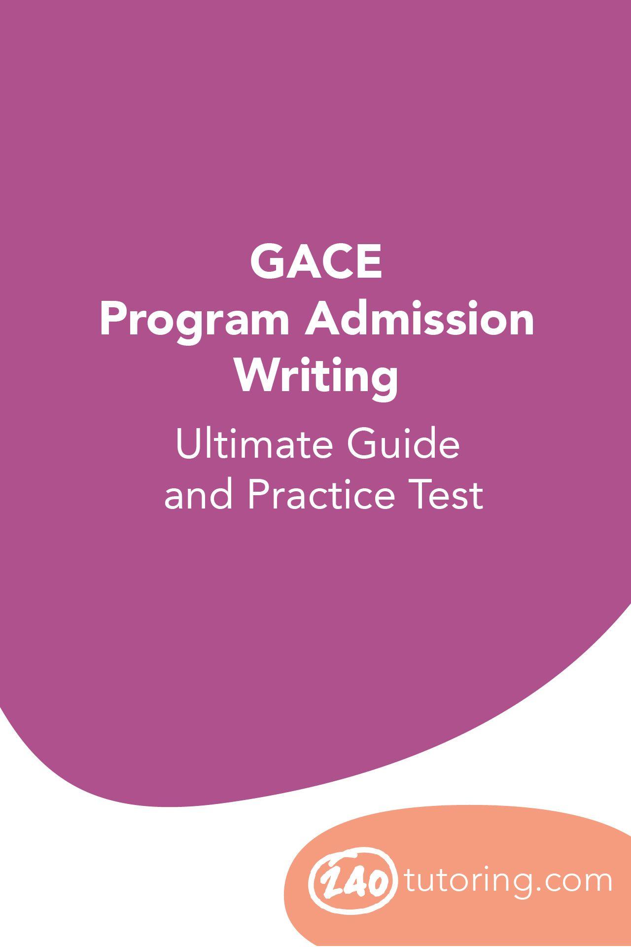Gace writing help