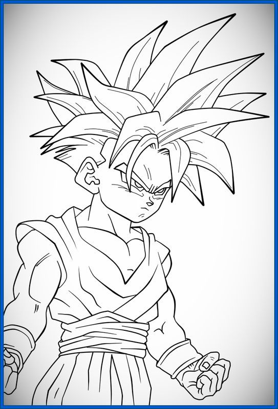 Resultado De Imagen Para Dragon Ball Para Colorear Dibujos De